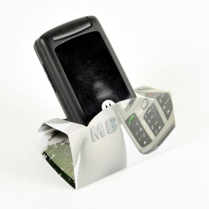 MOBILE PHONE HOLDER PP AND CORK FULL COLOR PRINT