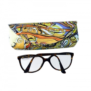 GLASSES BAG WITH FOAM, FULL COLOR PRINT