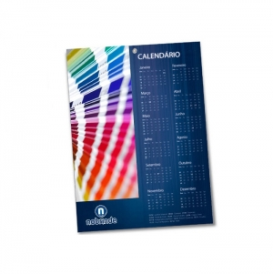 WALL CALENDAR FULL COLOR PRINT