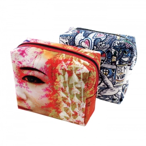 MULTIPURPOSE BAG, POLYESTER, FULL COLOR PRINT