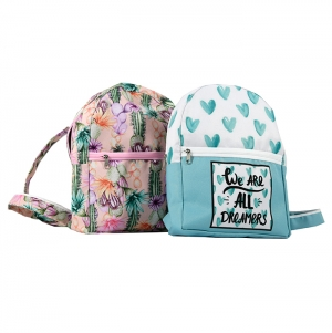 BAGPACK BAG POLYESTER, FULL COLOR PRINT
