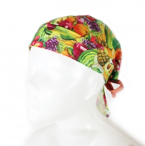 POLYESTER  CAP FULL COLOR PRINT